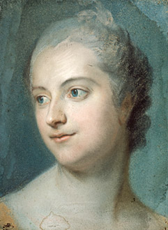 A Closer Look At The Portrait Of The Marquise De Pompadour Musee