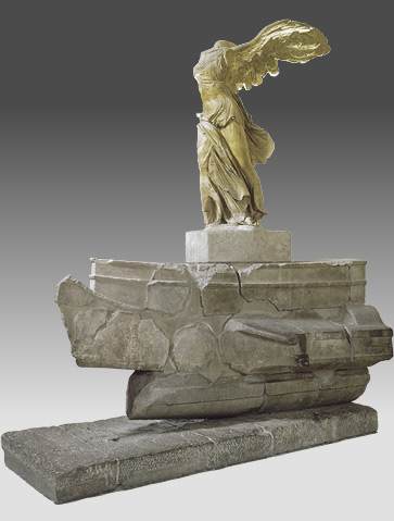 A Closer Look At The Victory Of Samothrace  Muse Du Louvre Circa  Bc Samothrace Parian Marble For The Statue And Gray Rhodian  Marble For